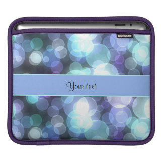 Blue Bokeh Sleeve For iPads