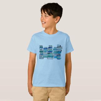 Blue Books Kids Shirt