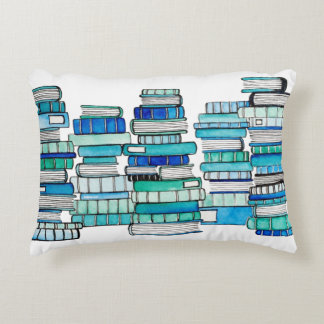 Blue Books Reversible Cushion