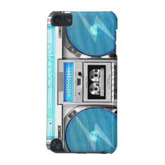 Blue boombox iPod touch (5th generation) cover