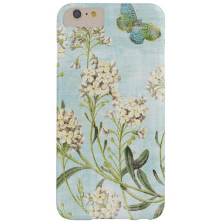 Blue Botanical Barely There iPhone 6 Plus Case