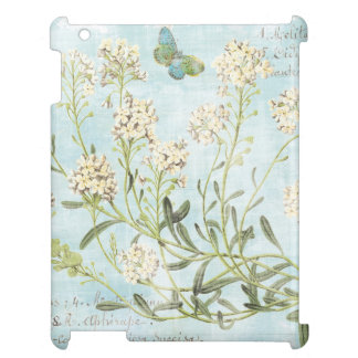 Blue Botanical Case For The iPad