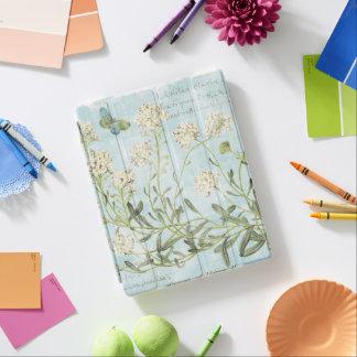 Blue Botanical iPad Cover