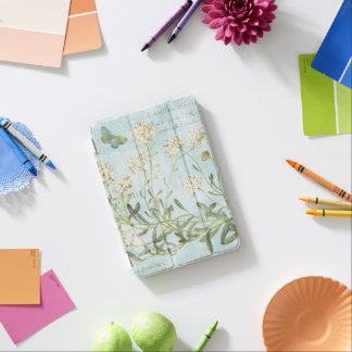 Blue Botanical iPad Mini Cover