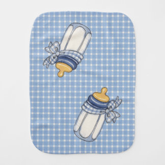 Blue Bottle - Burp Cloth