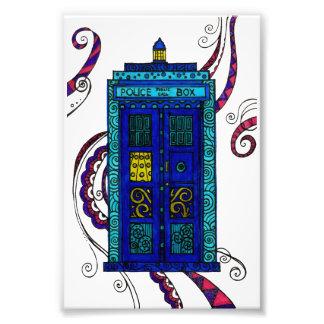 Blue Box - photographic print