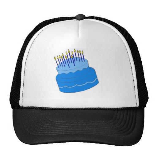 Blue Boys Birthday Cake Design Hat
