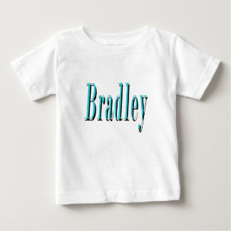 Blue Bradley Name Logo, Baby T-Shirt