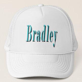Blue Bradley Name Logo, Trucker Hat