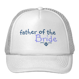 Blue Braid Father of the Bride Hat