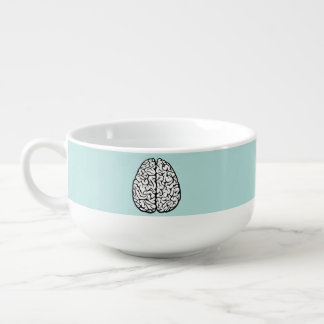 Blue Brain Soup Mug