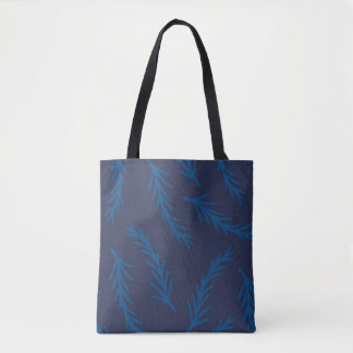 Blue Branches Tote Bag