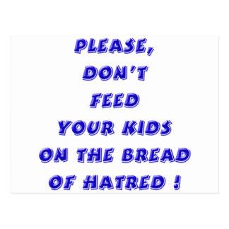 Blue - Bread of Hate Postcard