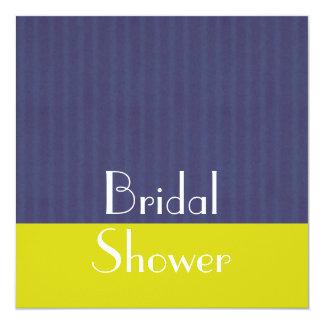 Blue Bridal Shower Invite - Contemporary