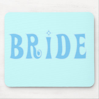 Blue Bride T-shirts and Gifts Mouse Pad