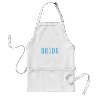 Blue Bride T-shirts and Gifts Standard Apron