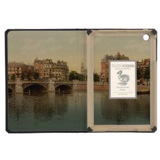 Blue Bridge and the Amstel River Amsterdam iPad Mini Retina Covers