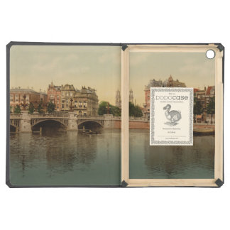 Blue Bridge and the Amstel River Amsterdam iPad Air Cover