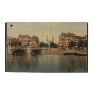 Blue Bridge and the Amstel River Amsterdam iPad Covers