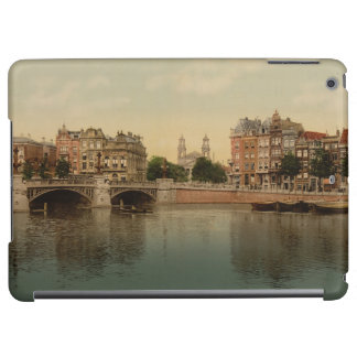 Blue Bridge and the Amstel River Amsterdam iPad Air Cases