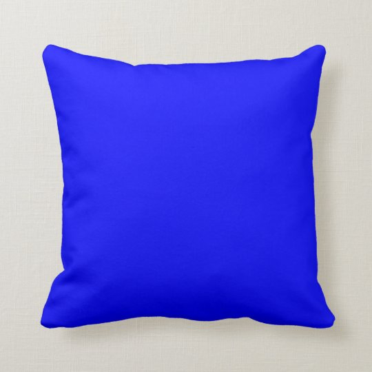 blue bright electric blue neon blue colour bleu cushion. Black Bedroom Furniture Sets. Home Design Ideas