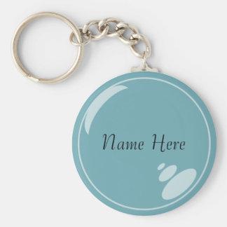 Blue Bubble Keychain