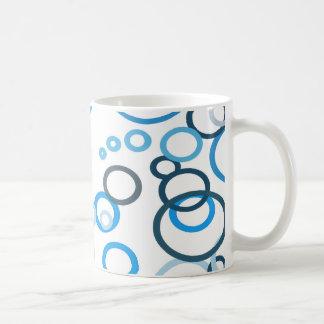 Blue Bubbles Coffee Mug