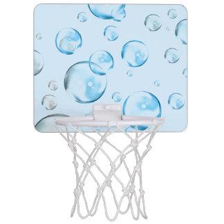 Blue Bubbles Mini Basketball Hoop