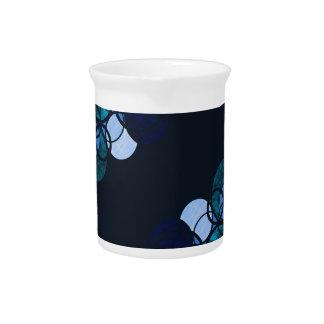 Blue bubbles pitcher
