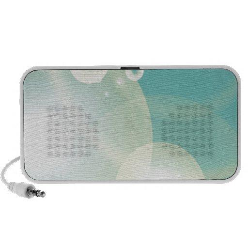 Blue Bubbles Notebook Speakers