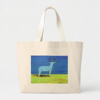 Blue Buck Large Tote Bag