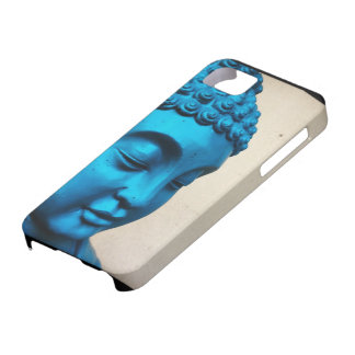 Blue Buddha Barely There iPhone 5 Case