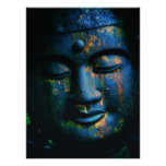 Blue Buddha Om Peace