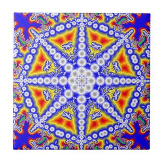 Blue Buddha Tile