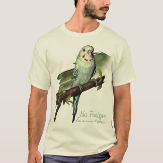 Blue Budgie Art Tee