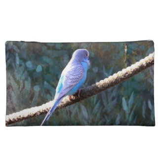 Blue Budgie Cosmetic Bag