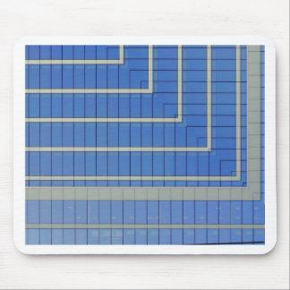 Blue Building Block 4 Mouse Pad