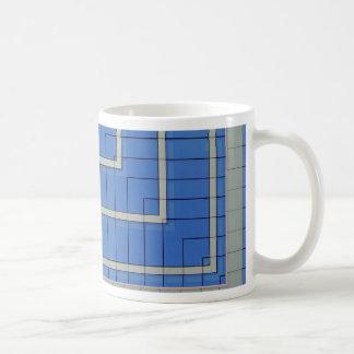Blue Building Block 4 Mug
