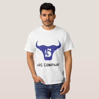 Blue Bull Logo Letter S Initial Tshirt
