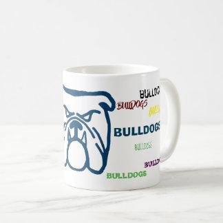 Blue Bulldog Coffee Mug