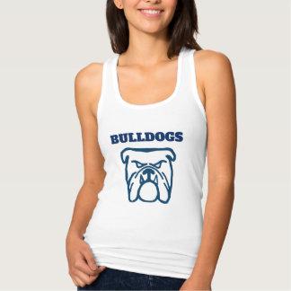 Blue Bulldog Singlet