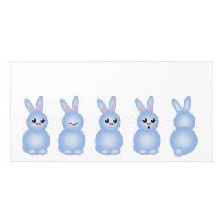 Blue Bunnies Door Sign