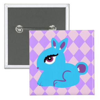 Blue Bunny Pin