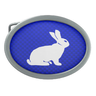 Blue Bunny Belt Buckle