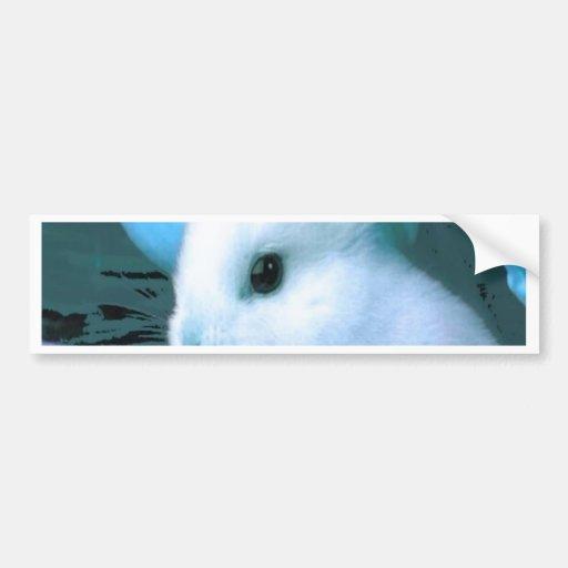 Blue Bunny Bumper Stickers