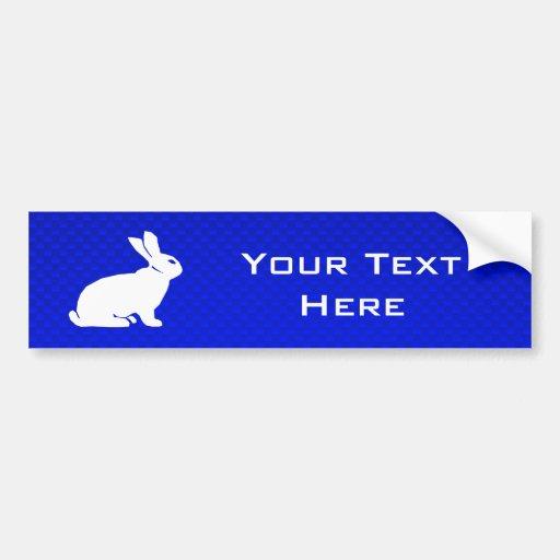 Blue Bunny Bumper Sticker