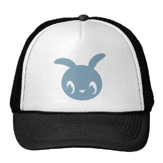 Blue Bunny Mesh Hats
