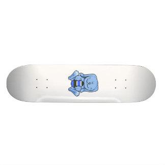 Blue bunny holding egg.png skateboard decks