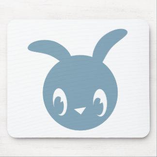 Blue Bunny Mousepad