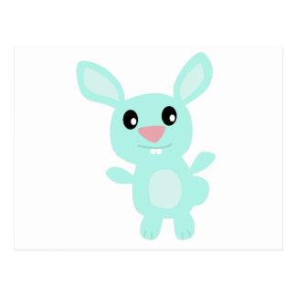 Blue Bunny Post Card